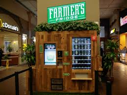 Salad Vending Machine Chicago Adorable Lunch In The Loop Get Your Next Salad At The Farmer's Fridge