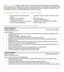Civil Engineer Resume Template – Sapsan.us