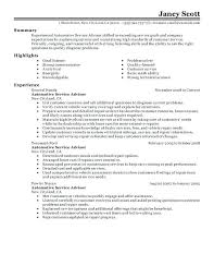 Resume Objective Summary Examples Customer Service Representative
