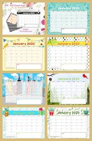 Editable 2015 2020 Calendar Free Teacher Calendar Pages The Curriculum Corner 123
