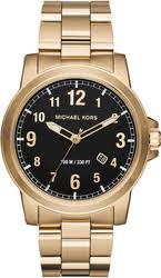 men s michael kors watches men s michael kors paxton goldtone watch mk8555