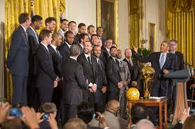 Obama And Cabinet President Obama Honors The 2014 Nba Champion San Antonio Spurs