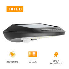 Everbright Solar Light Amazon Chesbung Solar Light Outdoor 30 Led Everbright Solar Light With A New Generation Of Motion Sensor Light 120 Degree Wide Angle Sensor Wireless
