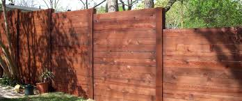 Wood Fence Pics Horizontal Wood Fence With Metal Posts Wood Fence