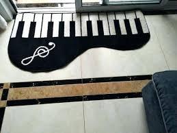 piano carpet floor mini area rug kids floor mat for bedroom piano note doormat rugs