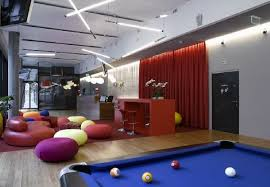 cool office games. reception furniture and lighting at cool google emea engineering hub office in zrich switzerland games