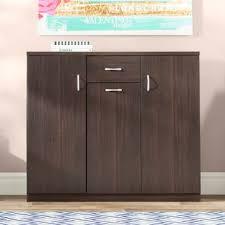 tall wood storage cabinet. Wood 30-Pair Shoe Storage Cabinet Tall C