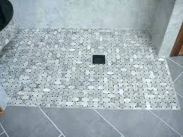 curbless shower systems shower pan bathroom with system ho curbless shower system canada curbless shower