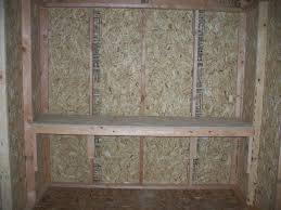 building workbench in shed