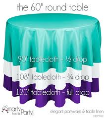 table cloth size guide for a round to see other tablecloths 60 linens inch white tablecloth round tablecloth 60 table