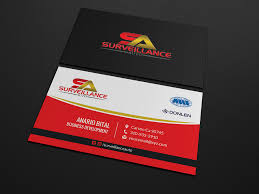 Modern Masculine Business Service Business Card Design For