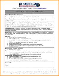 Insurance Agent Job Description Customer Service Resume To Apply For