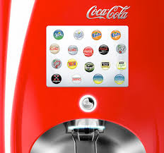 Coca Cola Touch Screen Vending Machine Beauteous CocaCola Freestyle Global Creative Development Matthew Doherty