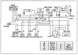 2007 110cc atv wiring diagram 2007 download wirning diagrams chinese atv wiring diagram 50cc at Redcat Atv Wiring Diagram