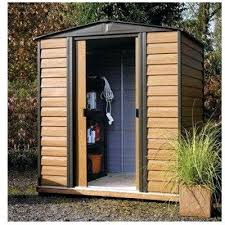 metal storage unit outdoor washer and dryer shed sheds