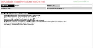 Glazier Job Description Careers Job Descriptions