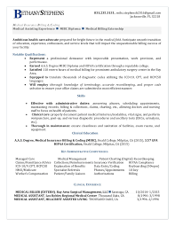 Medical Coding Resume Resume Examples For Medical Billing And Coding Tirevi