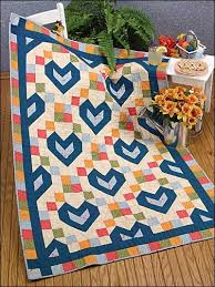 61 best Free Baby Quilt Patterns images on Pinterest | Free baby ... & Free Baby Blocks With Love Quilt Pattern -- Download this free baby quilt  pattern from Adamdwight.com