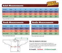 48 Logical Ccm Hockey Jersey Sizing Chart