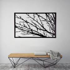 metal wall art minimalist wall art