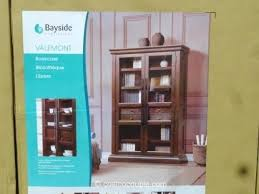 costco bookcase bayside bookcases 2 furnishings 3 x costco bookcase