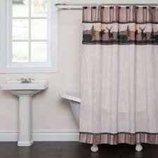taupe shower curtain