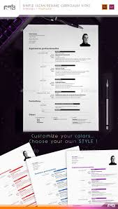 Modern Resume Template Cnet Sober And Clean Cv Resume With Timeline Resume Templates