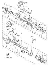 1990 yamaha phazer ii pz480p crankshaft piston parts best oem rh bikebandit ktm oem parts discount car parts names with diagram