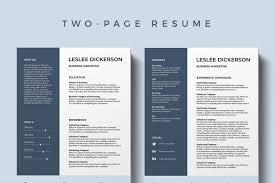 Modern Sleek Resume Templates Template Free Template Resume Design Best Resume Templates