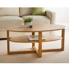 315370 milton coffee table oak finish