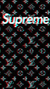 Supreme Design Wallpaper Louis Vuitton X Supreme Background Scale