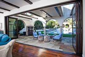 folding glass patio doors inspiration accordion grande room