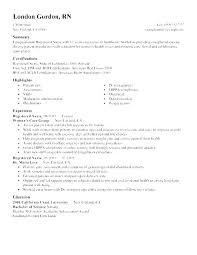 Rn Resumes Templates Nursing Graduate Resume Registered Nurse