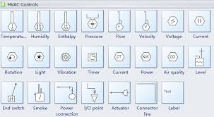 standard hvac plan symbols and their meanings hvac controls symbols