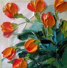 painting acrylic flowers acrylic painting techniques flowers jan ironside impasto painter