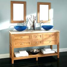 bamboo vanity bathroom. Vessel Bamboo Vanity Bathroom I
