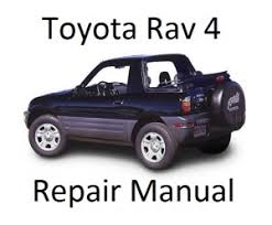 Toyota Rav 4 Repair Manual