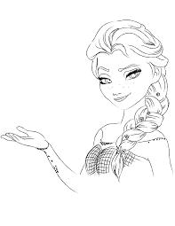 Tổng hợp các bức tranh tô màu công chúa Elsa đẹp nhất dành cho bé - Zicxa  books