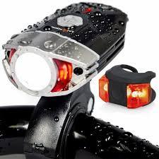 400 Lumen Bike Light Bike Light Set Rechargeable Galaxy 400 Lumens Led Bicycle Head And Tail Lights 755702029537 Ebay