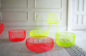 colorful furniture. New Colorful Wire Furniture From Bend