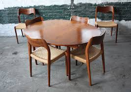 round mid century dining table part 63