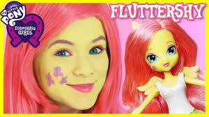my little pony fluttershy makeup tutorial equestria doll cosplay kittiesmama