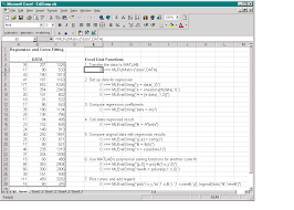 the worksheet contains one named range a4 c28 is named data and contains the sample data set