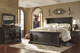 Your master bedroom is a place for a peaceful retreat, so it's important to choose furniture you love. Willenburg Casual Dark Brown Solid Wood Master Bedroom Set Wood Bedroom Furniture Master Bedrooms Decor Master Bedroom Set