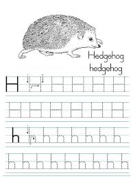 Letter H Worksheets for Preschool - Preschool and Kindergarten