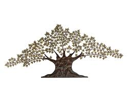 >enormous tree of life metal wall sculpture