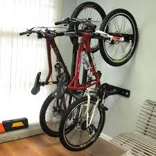 Wall Mount Bike Rack Installed