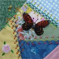 CRAZY QUILTING INTERNATIONAL: Summer Dreams - Helina's Blocks & Embellished by Beryl Adamdwight.com