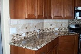 Backsplash For Small Kitchen Kitchen Backsplash Ideas White Cabinets Brown Countertop Subway