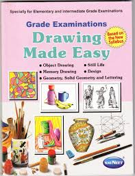 grade examination drawing made easy book at low s in india grade examination drawing made easy reviews ratings amazon in